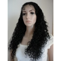 Full Lace Wig 100% cheveux Malésien Curly