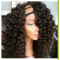 3/4 Wig cheveux Indien Body Wave (U-Part Wig)