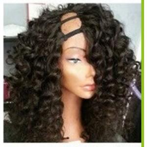 3/4 Wig cheveux Indien Body Wave (U-Part Wig)
