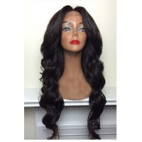 Full Lace Wig 100% cheveux Indien Body Wave