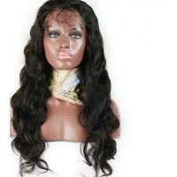 Full Lace Wig 100% cheveux péruvien Body Wave