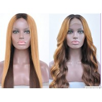 Full Lace Wig 100% cheveux Indien Straight