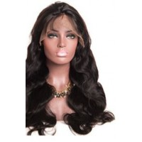 360 Front Lace Wig 100% cheveux Malésien Body Wave