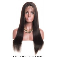 360 Lace Frontal 100% cheveux Indien Straight
