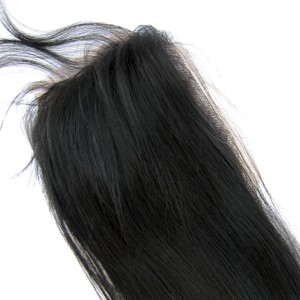 Top Closure Cheveux Humain