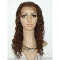 Front Lace Wig 100% cheveux Malésien Water wave