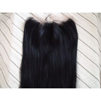 Frontal Lace 100% cheveux Malésien Straight