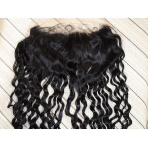 Frontal Lace 100% cheveux Malésien Curl